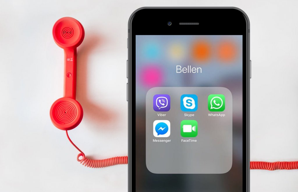 bellen via internet