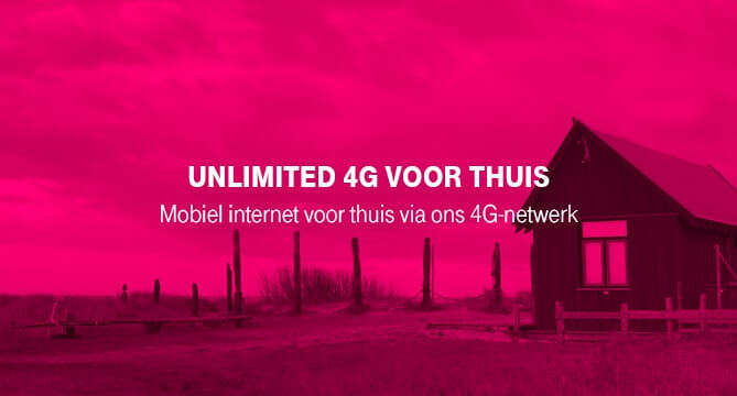 T-Mobile Unlimited 4G voor Thuis